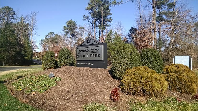 Office Park Entrance Sign